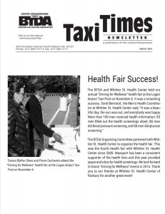 Taxi Times Newsletter- Sorel Bertrand Article
