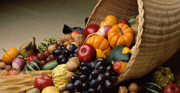 fall fruits and veg
